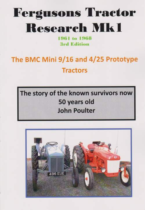 BMC Mini 9/16 and 4/25 Prototype Tractors