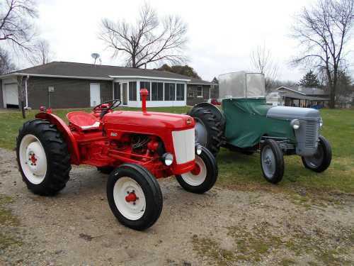 Nuffield 4/25 'Mini' & Ferguson 1948 TO 20