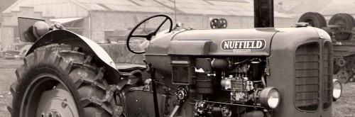 Early Diesel Nuffield