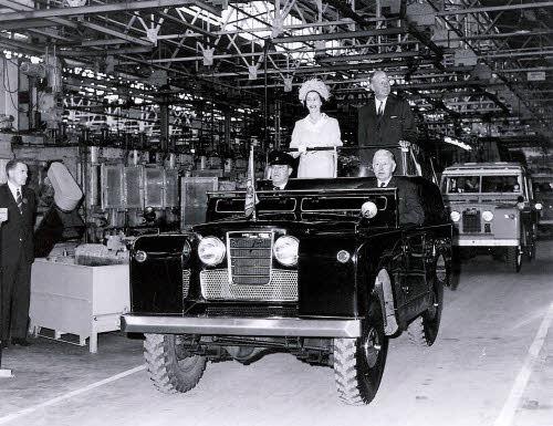 Queens visit B Block 1968