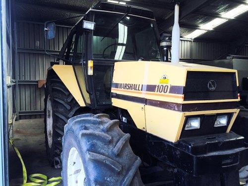 Unique Marshall 100-4 tractor