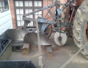 Ransomes TS59 YL183 Plough for Sale
